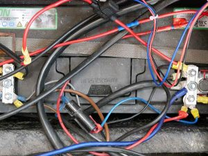 Leisure Battery and cables