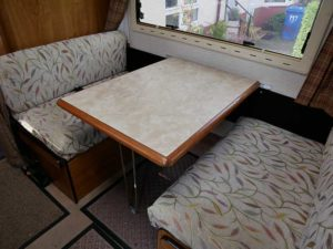 Motorhome central table