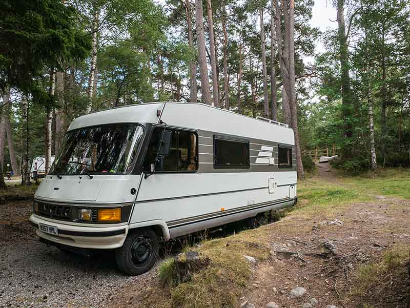 Hymer Camping Rothiemurchus
