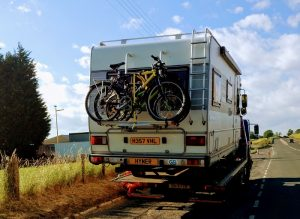 Hymer B644 Broken Down