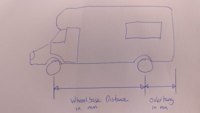 Sketch of Motorhome