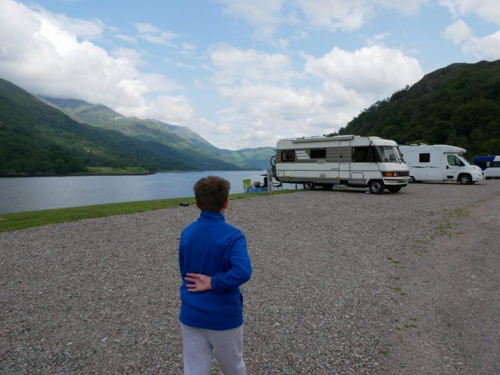 Hymer life in Scotland